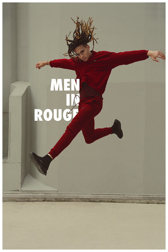 Men in rouge